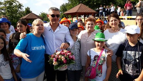 Children's Rights Ombudsperson attended the event organized by UNICEF for promoting peace and children's rights