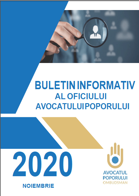 Buletinul Informativ al Oficiului Avocatului Poporului (noiembrie 2020)