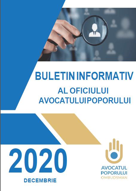 Buletinul Informativ al Oficiului Avocatului Poporului (decembrie 2020)