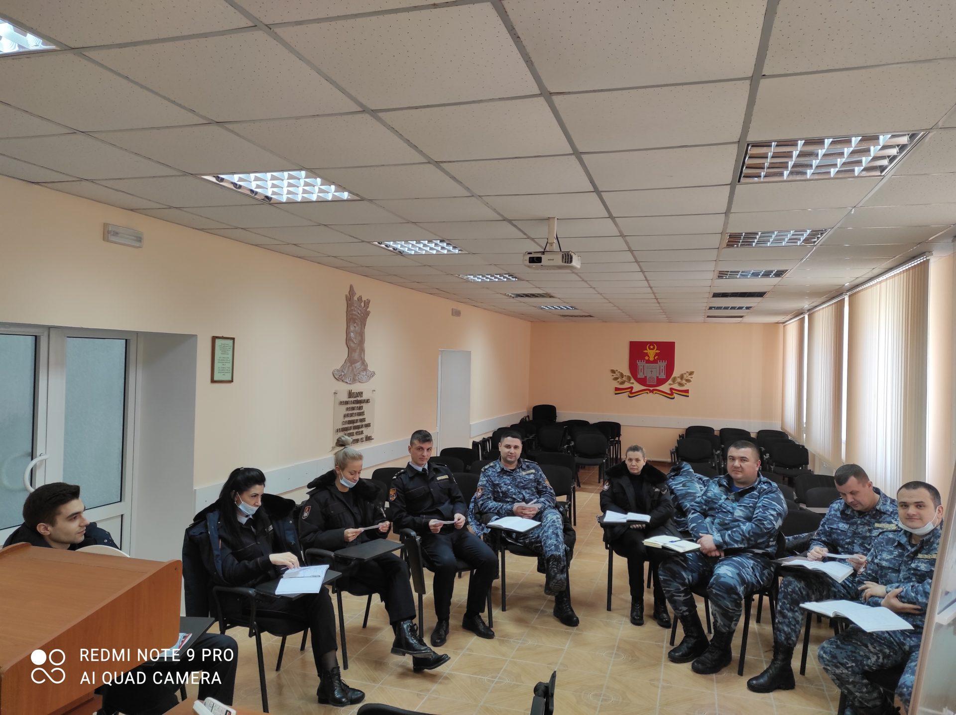 Ofițerii din sistemul penitenciar instruiți în domeniul prevenirii torturii