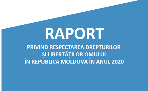 """Conferința de presă """"Prezentarea Raportului Avocatului Poporului privind respectarea drepturilor și libertăților omului în Republica Moldova în anul 2020"""""""