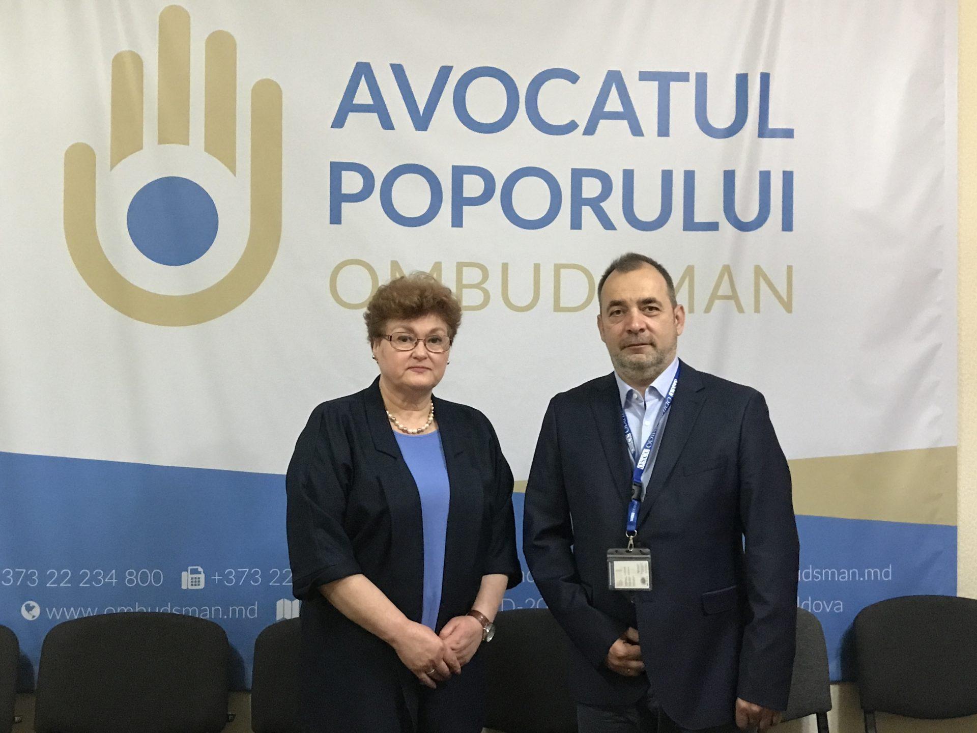 Avocatul Poporului s-a întâlnit cu reprezentanții Misiunii de observare pentru Alegerile Parlamentare Anticipate 2021